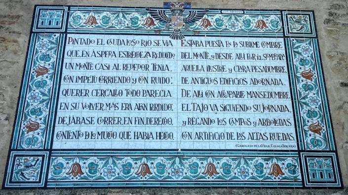 Inscripción Garcilaso de la Vega