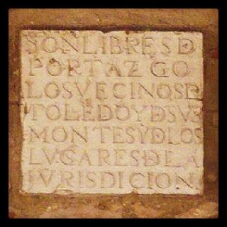 Placas de Toledo
